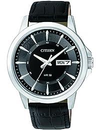 Citizen Herren-Armbanduhr Analog Quarz Leder BF2011-01EE