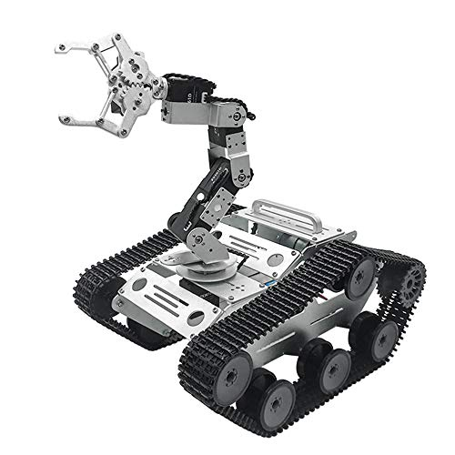 Generic TL-Tech KiBOT-2 Arduino 6DOF RC Robot Arm Car PS2 Stick Control Education Kit