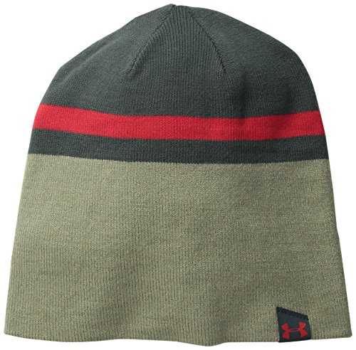 Under Armour Herren Sportswear Hut 4-in-1 Beanie 2.0, Sty/Tst/Red, One size, 1262144