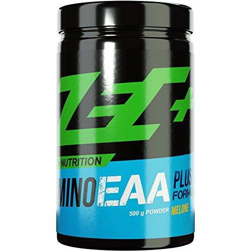 #ZEC+ AMINO EAA Formula Plus | essentielle Aminosäuren für den Muskel- und Gewebeaufbau | 8 EAAs in Reinform | schnelle Aufnahme im Körper | 500g Geschmack COLA#