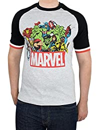 Marvel Mens Comics T-Shirt