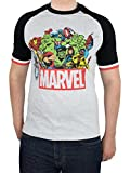 Marvel Herren 'Marvel Comics Short Sleeve T-Shirt, Mehrfarbig,  Gr:-L
