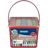Stylex 48104 Gatukrita, Flerfärgad, 20 st