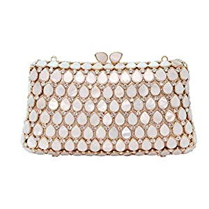88158aeb4d566 Lovely Rabbit Luxury Elegant Clutch Bag For Women Rhinestone Wedding  Evening Clutch Purse For Prom Night Out Party