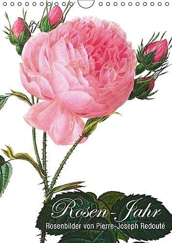 Rosen-Jahr (Wandkalender 2017 DIN A4 hoch): Rosenbilder von Pierre-Joseph Redouté (Monatskalender, 14 Seiten ) (CALVENDO Natur)