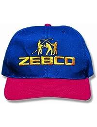 """Zebco Casquette de pêcheur """"Angler"""" Bleu/rouge Taille L"""