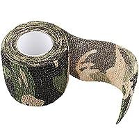 SaySure - 4.5m Roll CamoStretch Bandage Camping Hunting