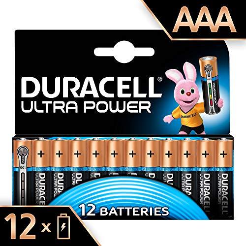 12 pilas de larga duración Duracell Ultra Power AAA con comprobador de carga integrado por 8,78€ ¡¡55% de descuento!!