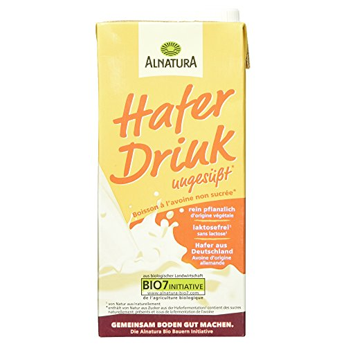Alnatura Bio H-Hafer Drink ungesüßt, Getränk auf Haferbasis, 1 l Test