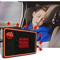 Ventilador de refrigeración portátil de cerámica para coche, 24 V-350 W, auto rápido calentamiento, descongelador, deflector de parabrisas, calentador de vehículos, enchufe en el encendedor de cigarrillos sin ruido