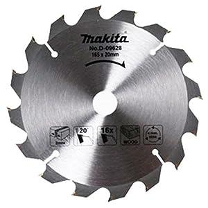 Makita D-03333 165 x 20 mm 24-Teeth Circular Saw Blade