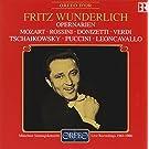 Wunderlich: Opernarien (Bayerischer Rundfunk 1961-1966) - Mozart - Rossini - Donizetti - Verdi - Tschaikowsky - Puccini - Leoncavallo