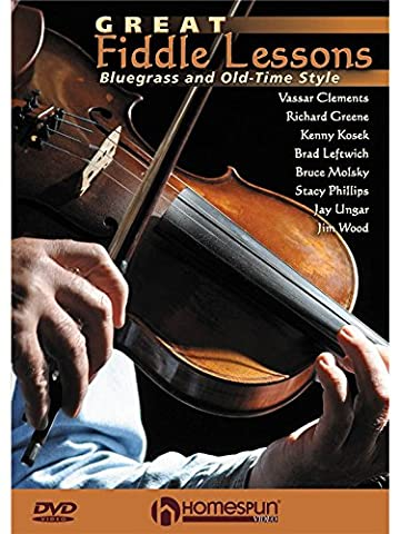 Great Fiddle Lessons - Bluegrass And Old-Time Styles. Pour Violon
