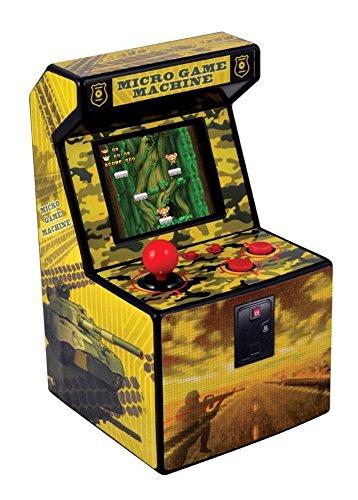 Mini Recreativa Arcade (Amarillo)