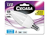 Cegasa Bombillas LED 5000K E14, 5