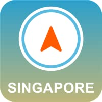 Singapur Offline-GPS