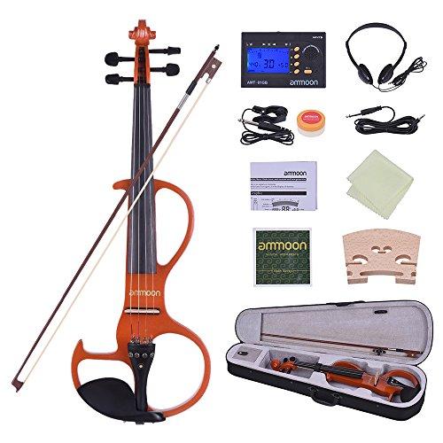 ammoon Violin Electric Silent Tamaño...