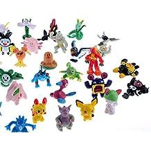 Seguryy - Juego de 72 figuras de Pokemon (2-3 cm) (StyleA)