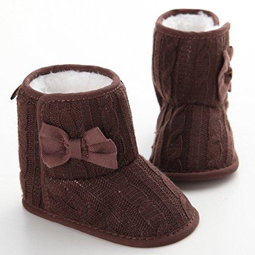 leap frog  Snow Boots,  Baby Mädchen Schneestiefel Braun