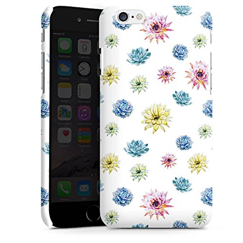 Apple iPhone X Silikon Hülle Case Schutzhülle Floral Muster Bunt Premium Case matt