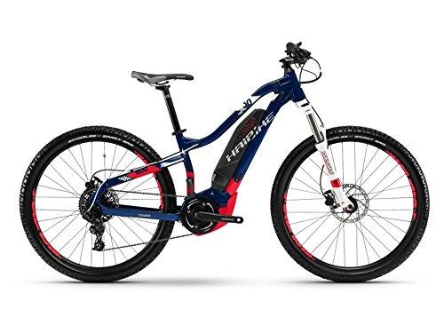 Haibike SDURO HardLife 3.0 E-Bike 500Wh E-Mountainbike blau/coral/weiß