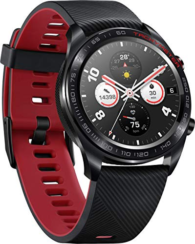 Honor Watch - Montre connectée - Noir/Rouge