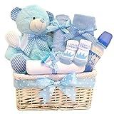 Cuddles Zeit Großer Deluxe Baby Boy Geschenk Korb/Geschenk für Baby Boy/Baby-Geschenkkorb/Baby Dusche Geschenk/New Arrival/Baby Andenken/Schnell Versand