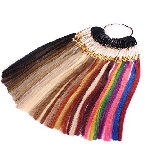 Just Beautiful Hair Farbring - Muster aller Haarfarben für Extensions - Echthaar Extensions, Haarverlängerung, Haarverdichtung, Haarteil, Bonding Echthaar Extensions