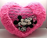 PragAart Deluxe Valentine Heart Plush Soft Pillow - Best Valentines Day Gift Home Decoration