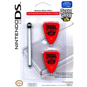 Nintendo DS Lite – Guitar Hero on Tour – Rockstar Stylus Set