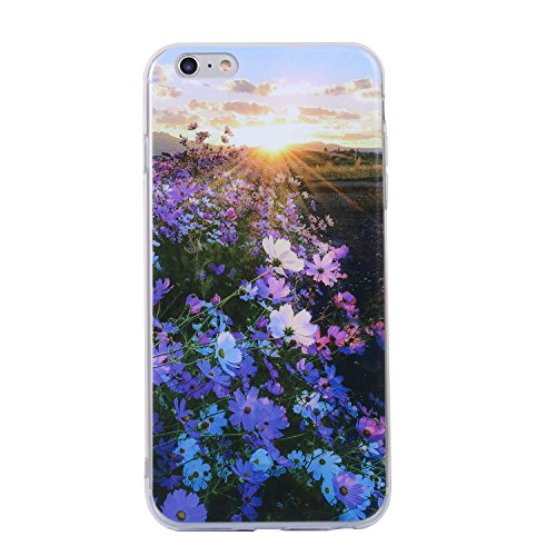 Cozy Hut iPhone 6/6s Handyhülle,iPhone 6/6s Silikon Hülle, 3D Handyhülle Muster Case Cover Für iPhone 6/6s Liquid Crystal Ultra Dünn Crystal Clear Transparent Handyhülle Soft Cover Premium