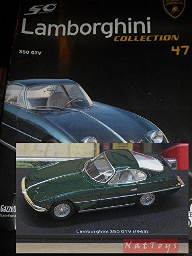 Lamborghini 50ø Collection 350 GTV 1963 Modellino DIE CAST 1:43 +fas Model