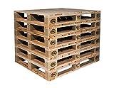 Europaletten Tauschpaletten Holzpaletten Holz Paletten Möbel Garten Palettenmöbel (10, 1. Wahl)