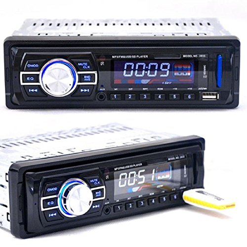 Tongshi For Auto Audio Bluetooth estéreo Unidad Jefe de USB/SD/FM/MP5/BT/WMA/MP3, 4.1 Inch [Clase de eficiencia energética A+++]