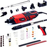 NoCry 10/125 Professional Rotary Tool Kit with Heavy Duty 170W Electric Motor, Universal