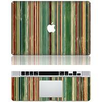 Vati fogli smontabili bande verticali di protezione della copertura completa di arte del vinile Decal Sticker Cover per Apple MacBook Pro Retina da 13,3