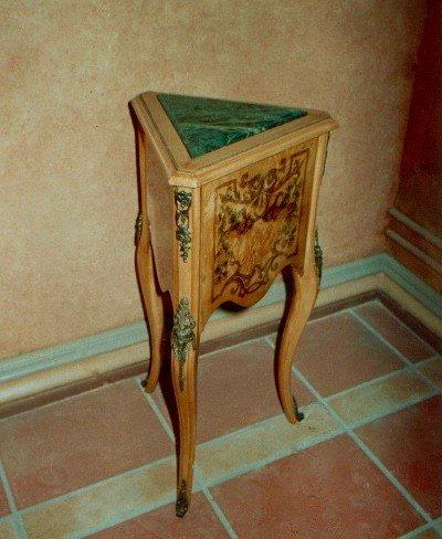 LouisXV Barock Beistelltisch Tisch Antik Stil rokoko MoAl0375 antik Stil Massivholz. Replizierte...