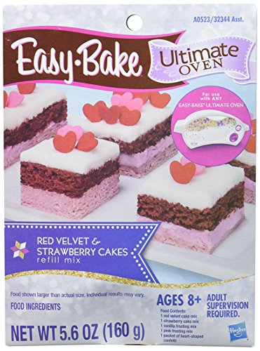 easy-bake-ultimate-oven-red-velvet-strawberry-cakes