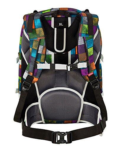 4You Basic Schulrucksack Jump 328 Miami Squares 328 miami squares - 3
