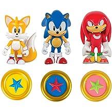 Sonic - Pack de 3 figuras articuladas (Bizak 30692050)