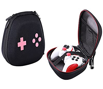 Hard Protective Case for DualShock 4 Wireless Controller Sony PS4 Controller SADES PS4 Controller Snakebyte Gamepad Microsoft Xbox One / Xbox One S Carrying Pouch Bag, Mesh pocket for Accessories from NiceCool