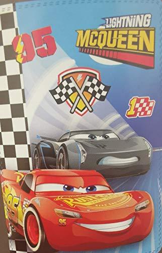 Style it up - coperta in pile spazzolato, per bambini e bambine, pile, cars saetta mcqueen 3, 100 x 150 cm