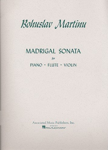 Madrigal Sonata: for flute, violin and piano