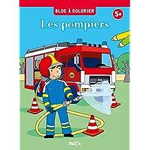 Bloc à colorier - Les pompiers