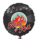 Amscan 50s Rock-n Standard Roll HX Folienballon