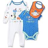 Mothercare Mummy & Daddy, Conjunto de Ropa para Bebés