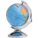 Spardose/Sparbüchse / mit drehbarem Globus