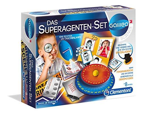 Clementoni - 59059 - Galileo - Superagenten-Set