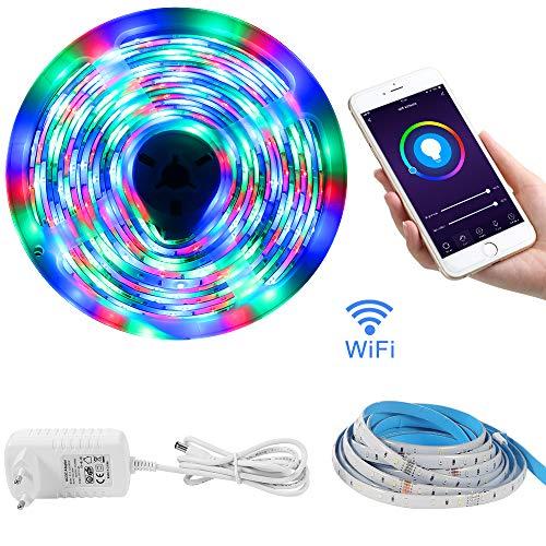 Striscia Led WiFi LOFTer 5m Strip Led 12V fissaggio Striscia Luminosa Led...