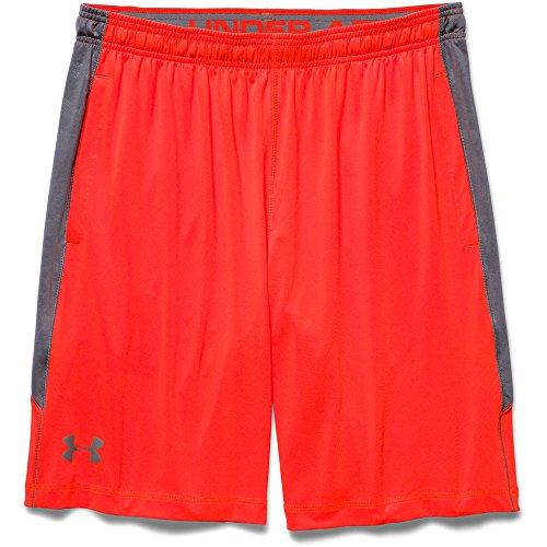 Under Armour UA RAID novelty Short pantaloncini, uomo, uomo, UA RAID novelty Short Bolt Orange/Graphite